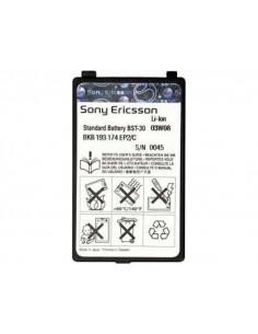 Аккумулятор Sony Ericsson BST-30 для K700  (670 мАч)