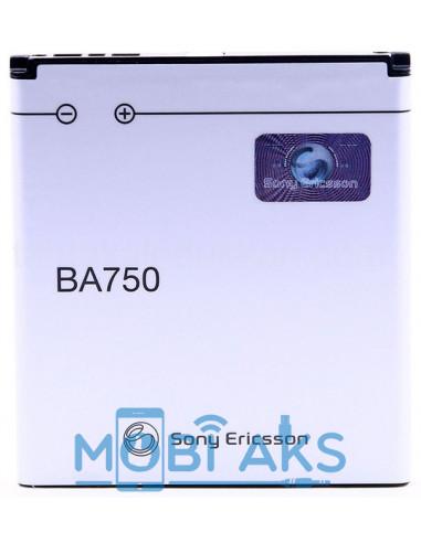 Аккумулятор Sony Ericsson BA750 (1500 мАч)