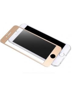 Цветное защитное стекло Iphone 6/6s