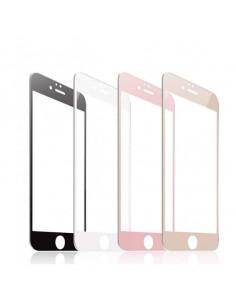Цветное защитное стекло Iphone 6 Plus