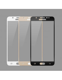 Цветное защитное стекло Samsung A5 2017 (A520)