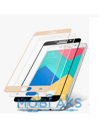 Цветное защитное стекло Samsung J5 Prime G570F