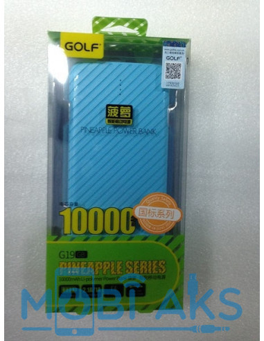 Внешний аккумулятор (Power Bank) Golf G19 10000 мАч