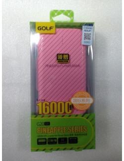 Внешний аккумулятор (Power Bank) Golf G20 16000 мАч