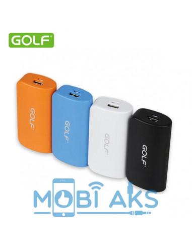Внешний аккумулятор (Power Bank) Golf GF-210 5200 мАч