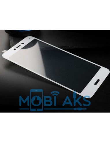 Защитное стекло Silk Screen Huawei P8 Lite
