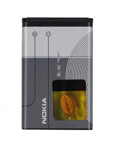 Аккумулятор (АКБ) BL-5С orig для телефонов Nokia (1100, 2330, 2730, 6230, 6670, 7610, E50, E60, N70, N71, N72, N91)