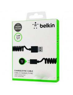 Кабель USB Belkin micro пружина