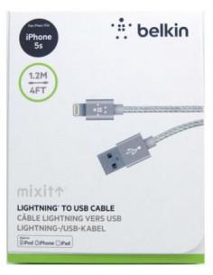 Кабель USB Belkin в оплетке для iPhone 5,6,7