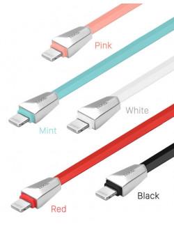 Кабель USB HOCO X4 Zinc Lightning