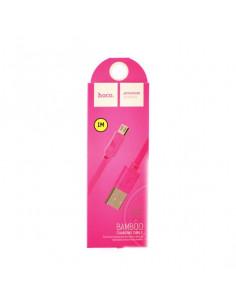 Кабель USB HOCO X5 Bamboo micro