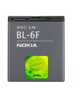 Аккумулятор для Nokia N95 8GB (BL-6F) 1150 мАч