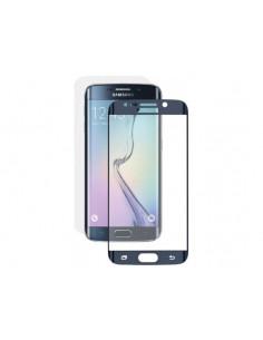Цветное защитное стекло Samsung S6 edge
