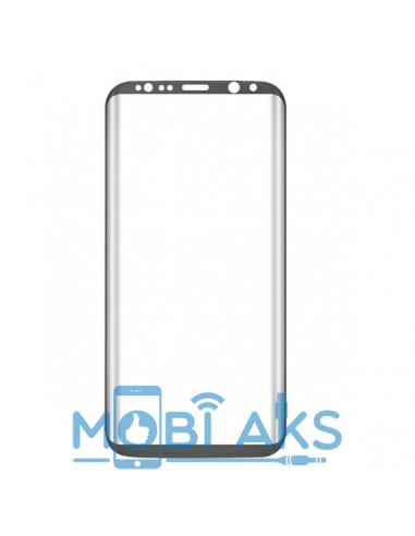 Цветное защитное стекло Samsung S8+