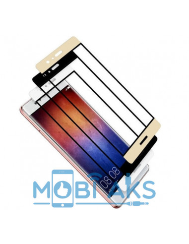 Цветное защитное стекло Huawei P8...