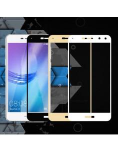Цветное защитное стекло Huawei Y5 2017