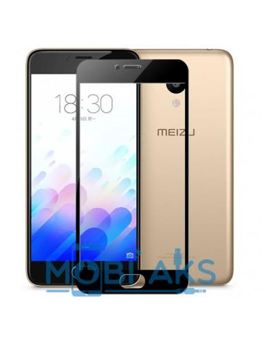 Цветное защитное стекло Meizu M5S