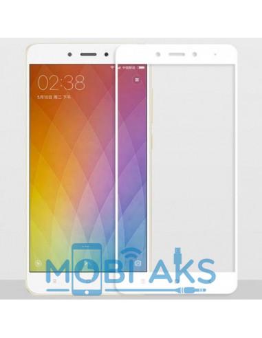Цветное защитное стекло Meizu M6 Note