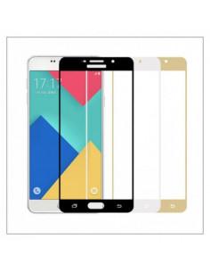Цветное защитное стекло Samsung J7 Prime