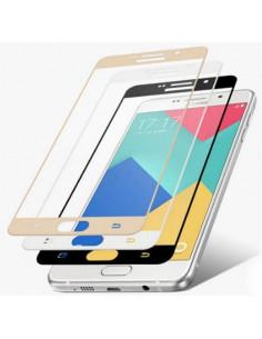 Цветное защитное стекло Samsung J700