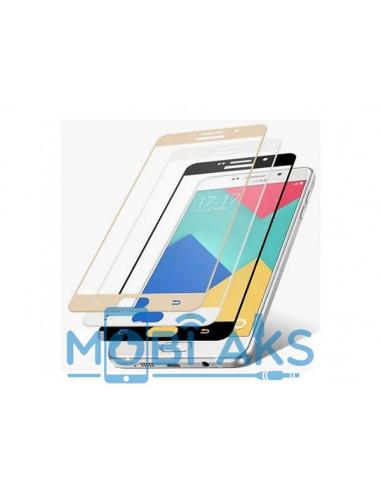 Цветное защитное стекло Samsung J730 (на весь экран)