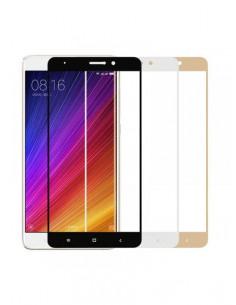 Цветное защитное стекло Xiaomi Mi 5S plus