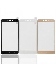 Цветное защитное стекло Xiaomi Redmi 3/3S