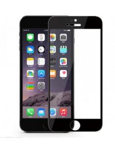 Цветное защитное 2.5D стекло для iPhone 6