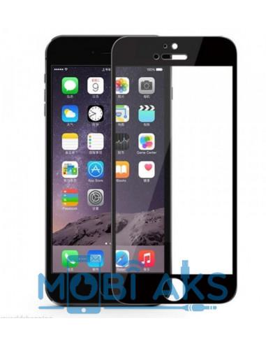 Цветное защитное 2D стекло для iPhone 6