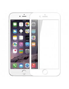 Цветное защитное 2.5D стекло для iPhone 6+