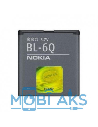 Аккумулятор для Nokia 6700 Classic BL-6Q 890 мАч