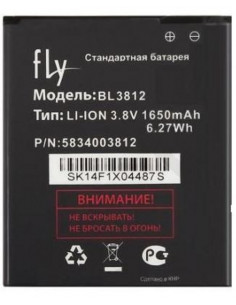 Аккумулятор BL3812 ( 1650 мАч ) для Era Life 5