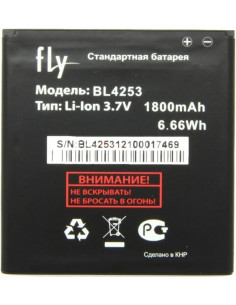 Аккумулятор BL4253 ( 1800 мАч ) для Fly IQ443