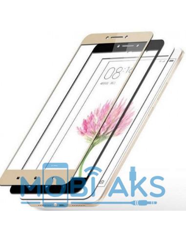 Цветное защитное стекло Xiaomi Redmi Note 4X (Черное, белое, золото)