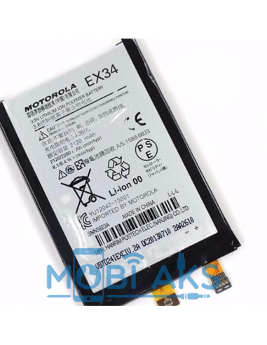Аккумулятор EX34 для Moto X XT1053