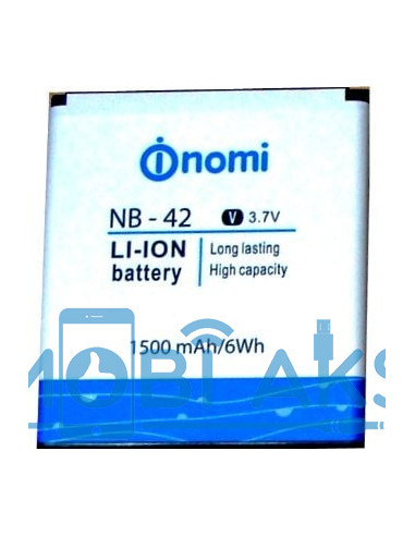 Аккумулятор NB-42 для Nomi i401
