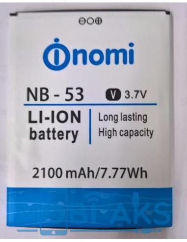 Аккумулятор NB-53 для Nomi i502