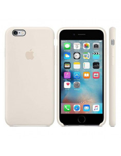 Чехол Silicon case для iPhone 6S Antique White