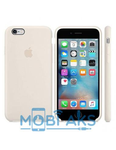 Чехол Silicone case для iPhone 6S Antique White