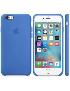 Чехол Silicone case для iPhone 6/6S Blue new