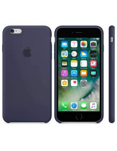 Чехол Silicone case для iPhone 6/6S Midnight blue
