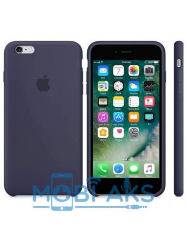 Чехол Silicone case для iPhone 6 / 6S Midnight blue