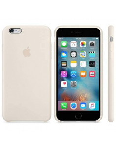Чехол Silicone case для iPhone 6S Plus Antique White