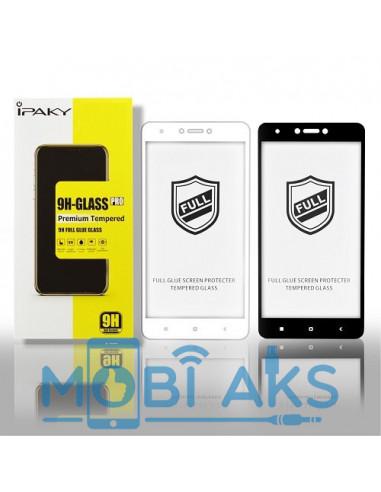 Защитное стекло 3D iPaky Full Glue Meizu M5S (Черное, на весь экран)