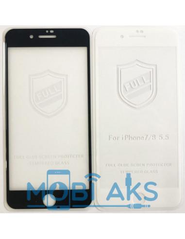 Защитное стекло iPaky Full Glue Iphone 7/8 Plus (закрывает весь экран)
