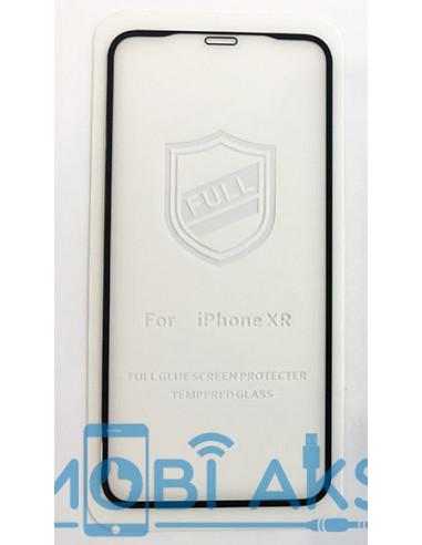 Защитное стекло черное 3D iPaky Full Glue Iphone XR (на весь экран)
