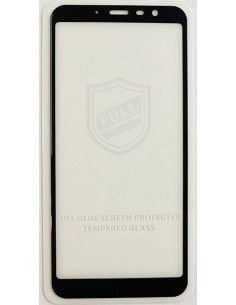 Защитное стекло 3D iPaky Full Glue Meizu M6T (Черное, белое на весь экран)