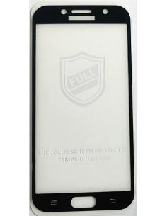 Цветное защитное стекло Samsung A7 2017 (A720)