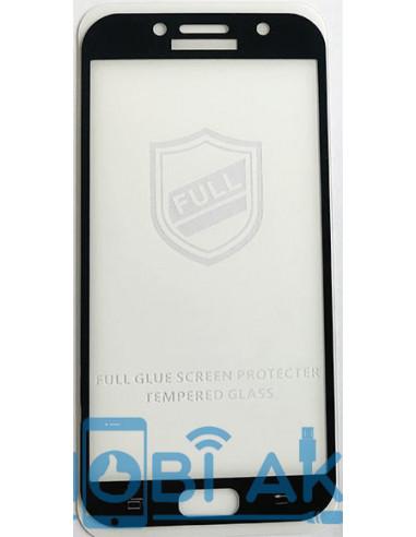 Защитное стекло 3D Silk Screen для Samsung A7 2017 (A720)
