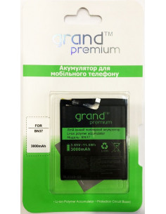 Аккумулятор Grand Premium BN37 для Xiaomi Redmi 6 / 6A (3000 мАч)